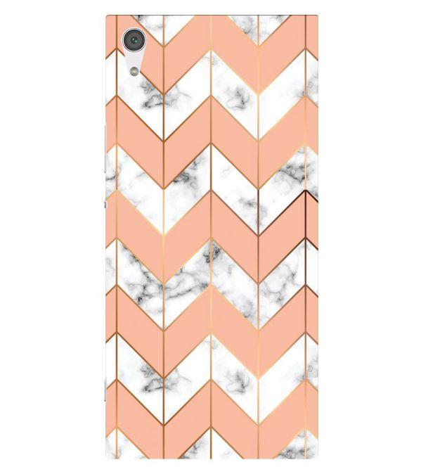 Printed Marble Pattern Back Cover for Sony Xperia XA1