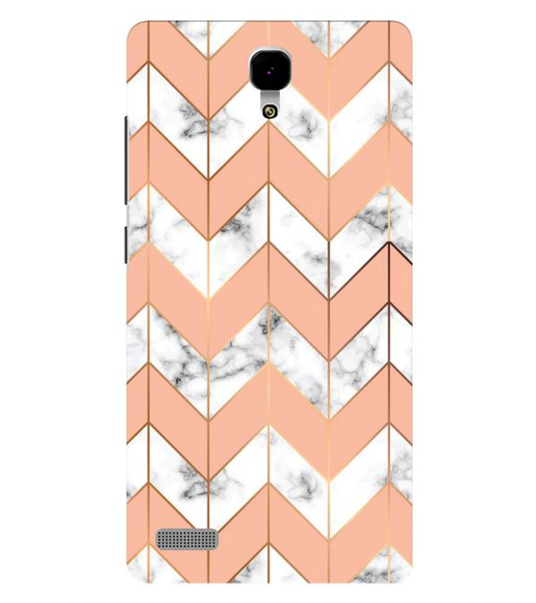 Printed Marble Pattern Back Cover for Xiaomi Redmi Note 4G