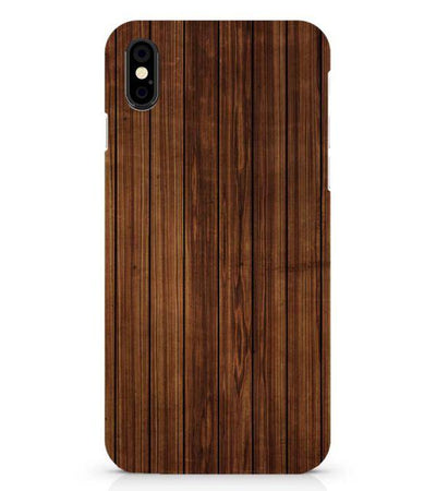 Printed Wooden Pattern Back Cover for Apple iPhone X