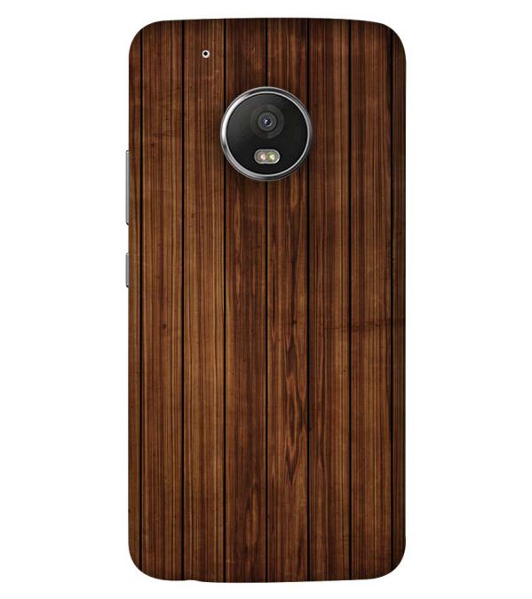 best loved 5ad20 83aab YuBingo - Buy Printed Wooden Pattern Mobile Cover for Motorola Moto ...