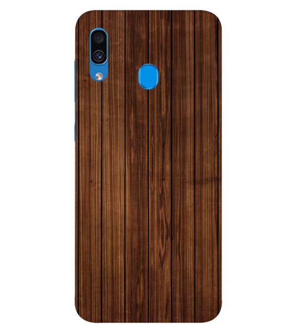 Printed Wooden Pattern Back Cover for Samsung Galaxy A30