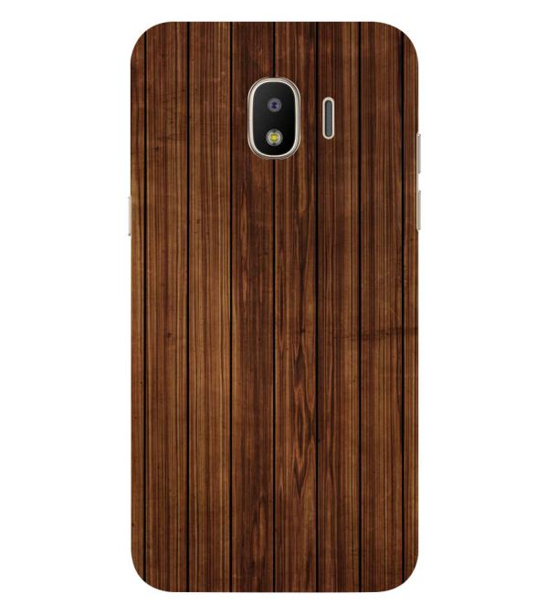 Printed Wooden Pattern Back Cover for Samsung Galaxy J2 (2018)