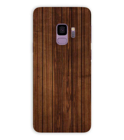 Printed Wooden Pattern Back Cover for Samsung Galaxy S9