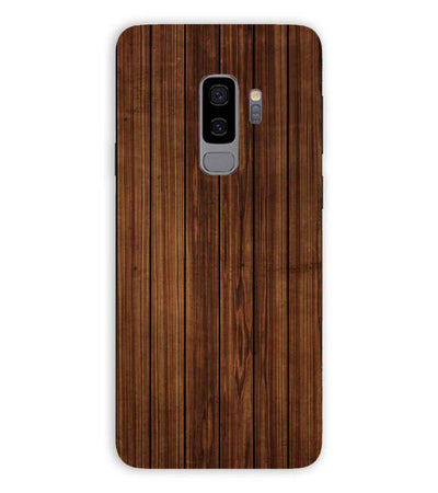 Printed Wooden Pattern Back Cover for Samsung Galaxy S9+ (Plus)