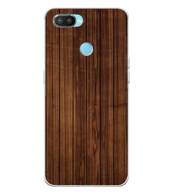 Printed Wooden Pattern Back Cover for Oppo Realme 2 Pro-Image3