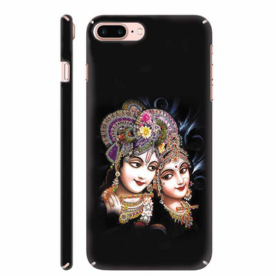 Radha And Krishna Back Cover for Apple iPhone 8 Plus