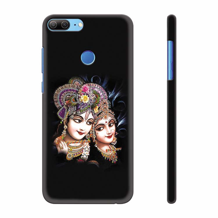 Radha And Krishna Back Cover for Huawei Honor 9 Lite