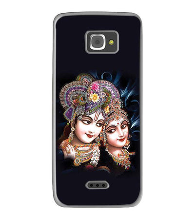 Radha And Krishna Back Cover for InFocus M350