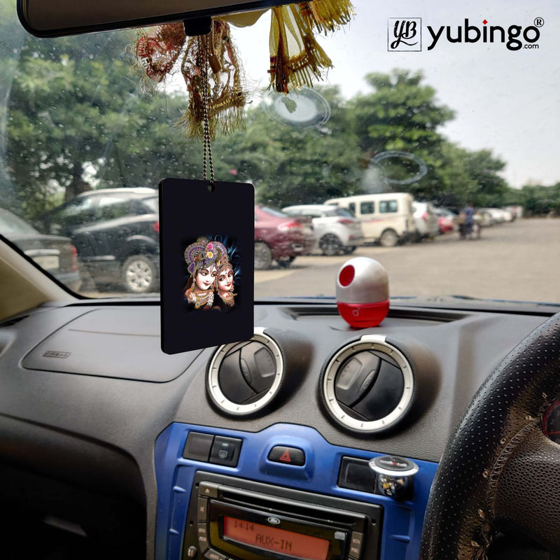 Radha And Krishna Car Hanging