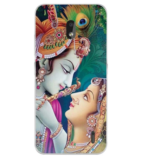 Radha Krishna Back Cover for Nokia 2.2-Image3