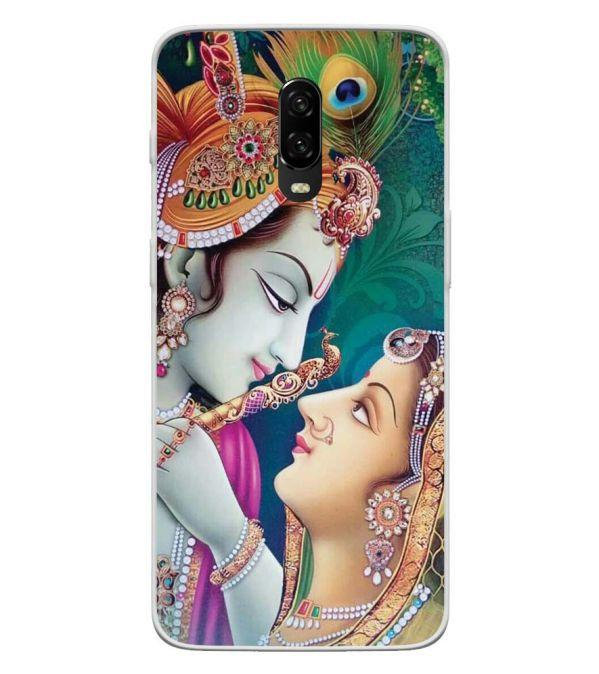 Radha Krishna Back Cover for OnePlus 6T