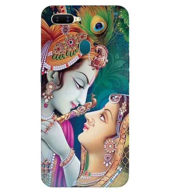Radha Krishna Back Cover for Oppo A7