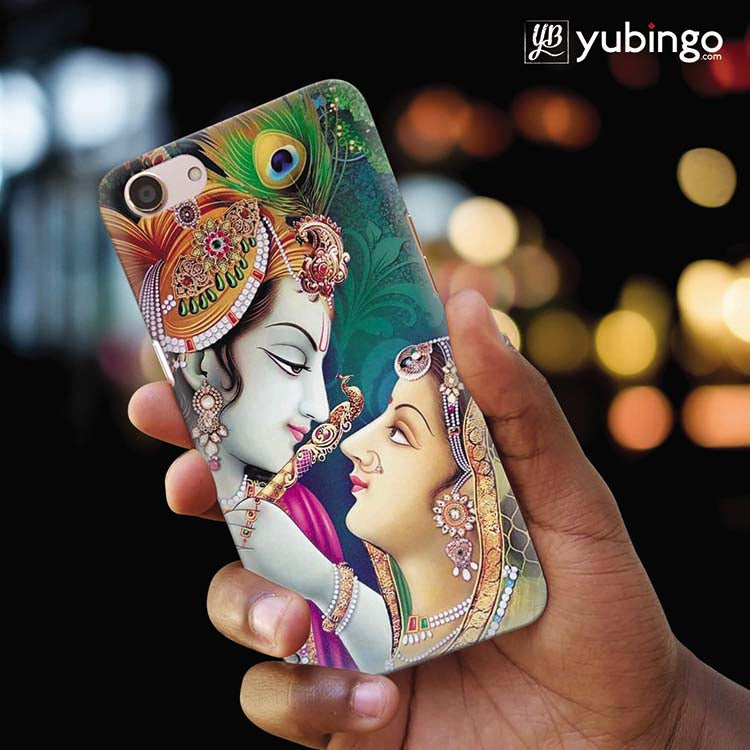 Radha Krishna Back Cover for Oppo A83
