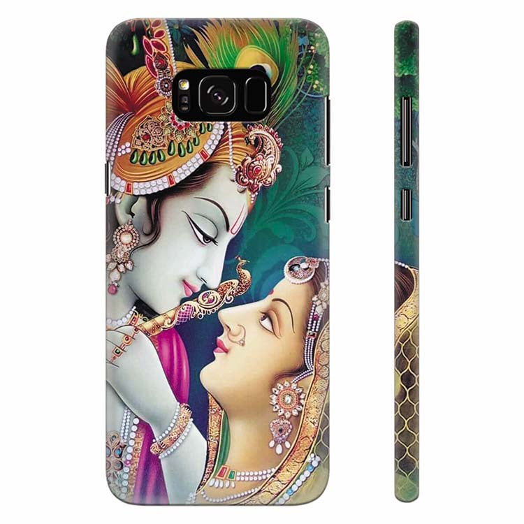 Radha Krishna Back Cover for Samsung Galaxy S8 Plus