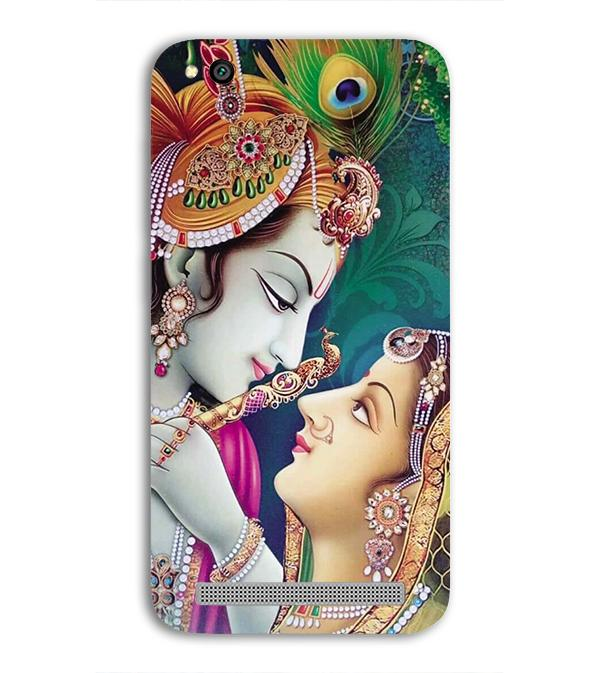 Radha Krishna Back Cover for Xiaomi Redmi 5A