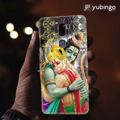 Ram And Hanuman Ji Back Cover for Coolpad Cool 1-Image2