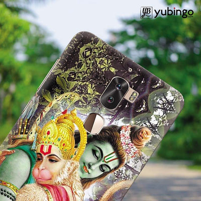 Ram And Hanuman Ji Back Cover for Coolpad Cool 1-Image4