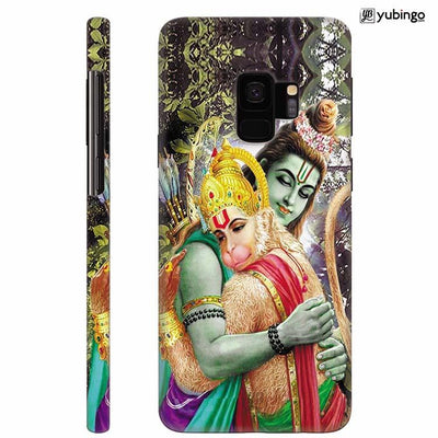 Ram And Hanuman Ji Back Cover for Samsung Galaxy S9