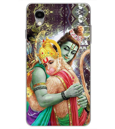 Ram And Hanuman Ji Back Cover for ITEL PWO Pro