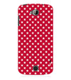 Red Stars Back Cover for Acer Liquid Zade 530
