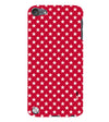 Red Stars Back Cover for Apple iPod Touch 5