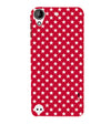Red Stars Back Cover for HTC Desire 530