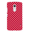 Red Stars Back Cover for Lenovo Vibe X3