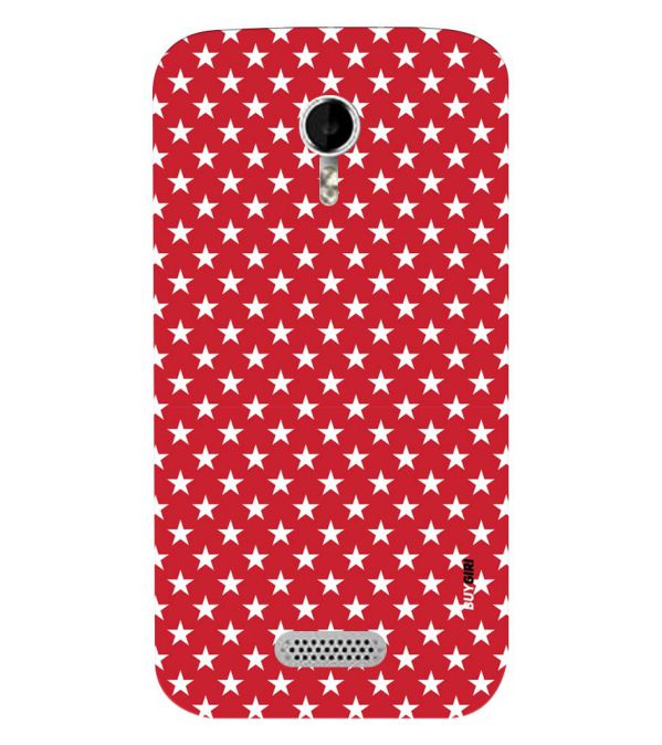 hot sale online 6aef0 cc242 Red Stars Back Cover for Micromax A116 Canvas HD