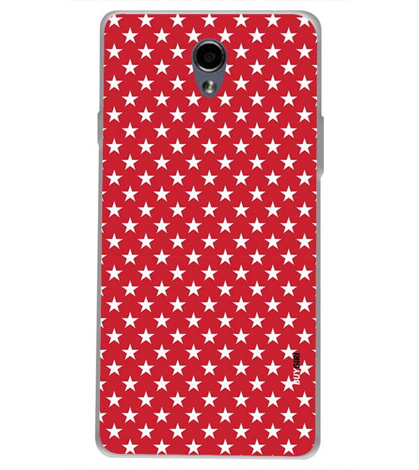 huge discount cf5f8 10c5b Red Stars Back Cover for Oppo Joy 3