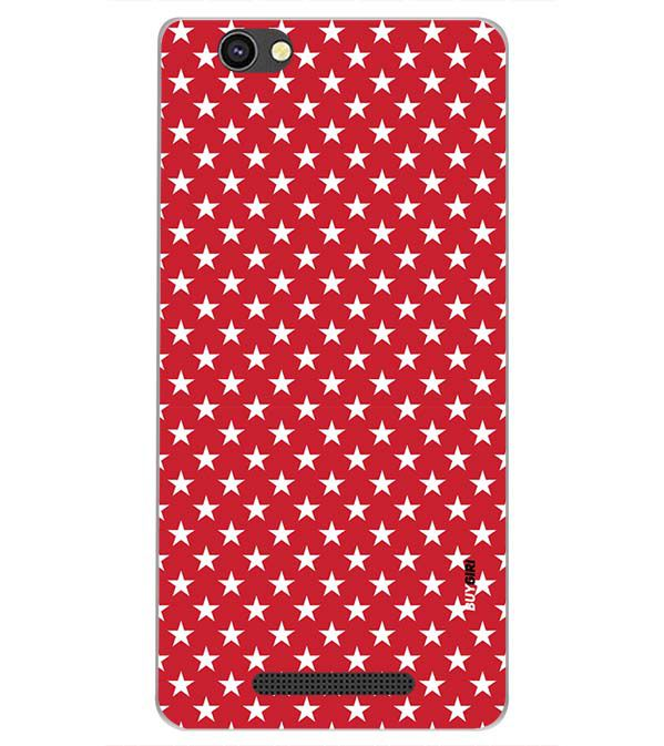 new concept 87c33 7a75a Red Stars Back Cover for Xolo Era 4G