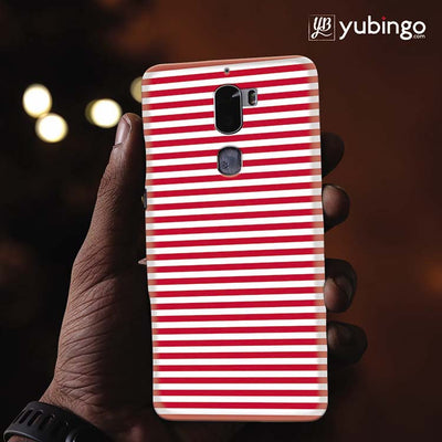 Red Stripes Back Cover for Coolpad Cool 1-Image2