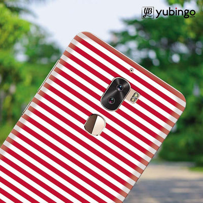 Red Stripes Back Cover for Coolpad Cool 1-Image4