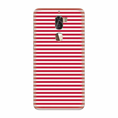 Red Stripes Back Cover for Coolpad Cool 1