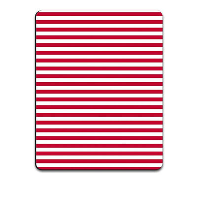 Red Stripes Mouse Pad