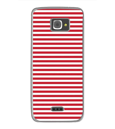 Red Stripes Back Cover for InFocus M350