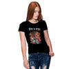 Ride In Style Women T-Shirt-Black