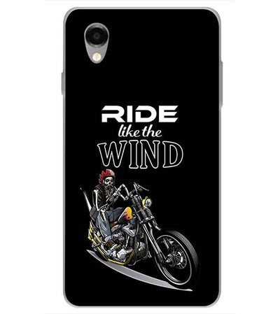 Ride the Wind Back Cover for ITEL PWO Pro