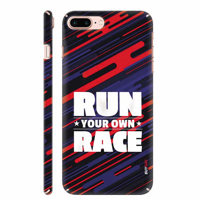 Run Own Race Back Cover for Apple iPhone 8 Plus