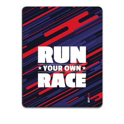 Run Own Race Mouse Pad