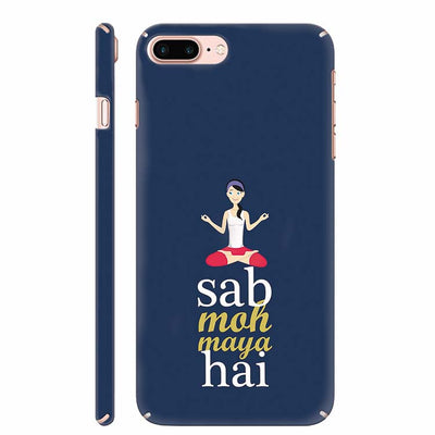 Sab Moh Maya Hai Back Cover for Apple iPhone 8 Plus