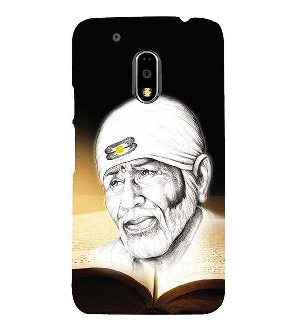 Sai Baba Back Cover for Motorola Moto G4 and Moto G4 Plus