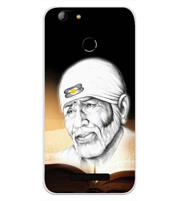 Sai Baba Back Cover for Intex Aqua Lions X1-Image3