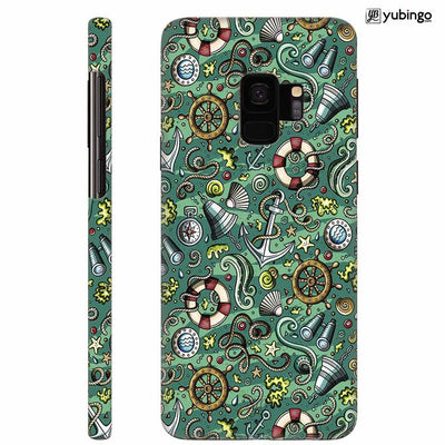 Sea Green Back Cover for Samsung Galaxy S9