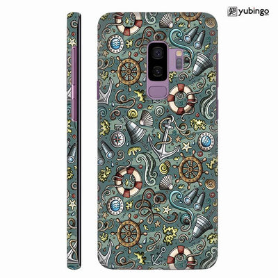 Sea Green Back Cover for Samsung Galaxy S9+ (Plus)