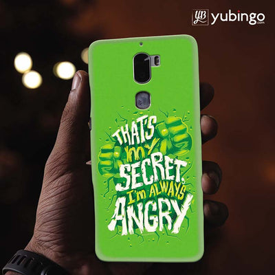 Secret I Am Always Angry Back Cover for Coolpad Cool 1-Image2