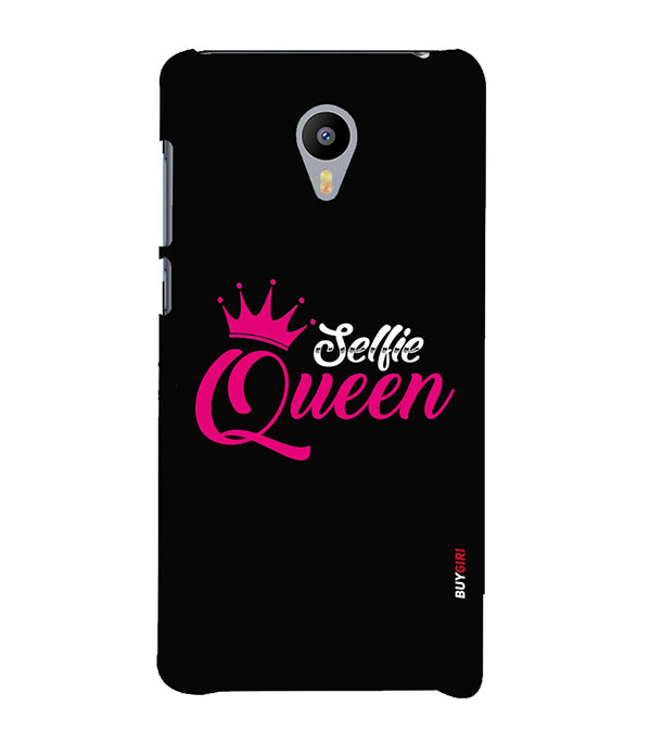 Selfie Queen Back Cover for Meizu M3 Note