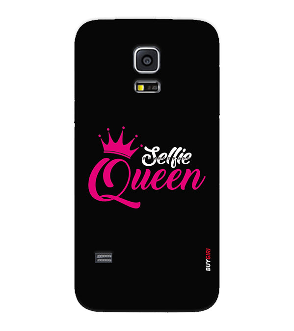 low priced 32ab7 b8164 Selfie Queen Back Cover for Samsung Galaxy S5 Mini