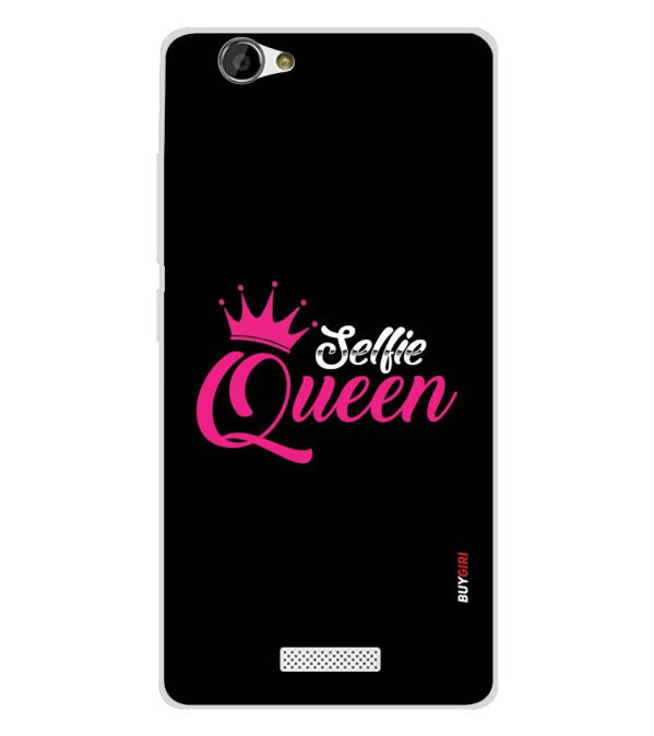 Selfie Queen Soft Silicone Back Cover for Gionee M3