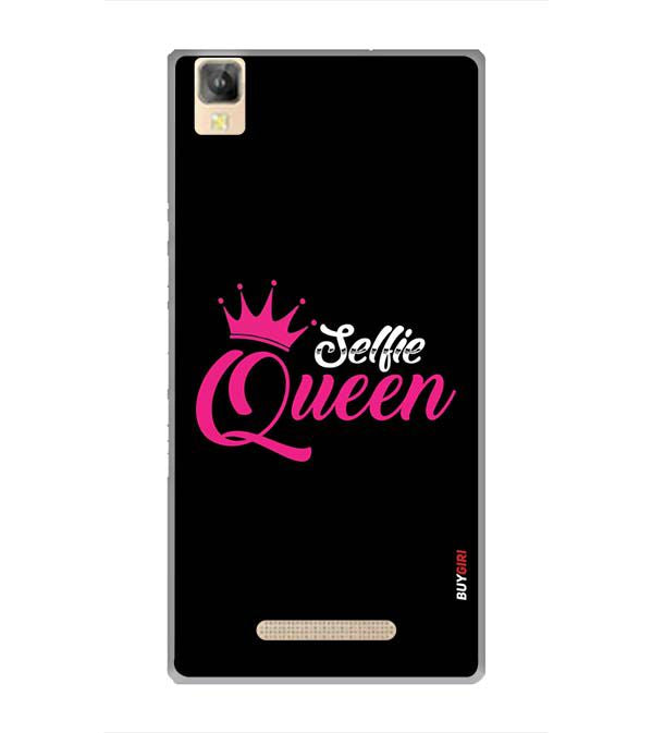 Selfie Queen Back Cover for Panasonic Eluga A2