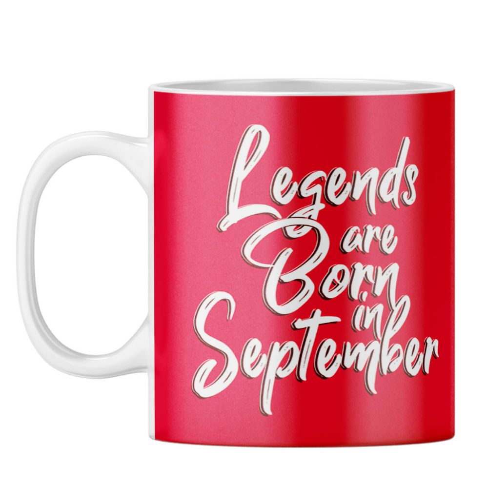 September Legends Coffee Mug